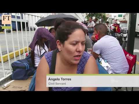 Venezuela hit hard by Oil prices   FT World VfqRrjpHs1s