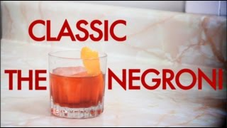 How To Make The Classic Negroni Cocktail -drinks Made Easy