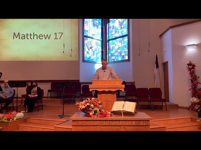 Matthew 17   Harold Johnson