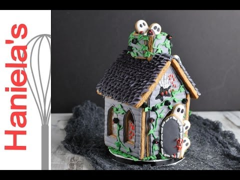 awesome haunted gingerbread house by hanielas - Nightmare Before Christmas Gingerbread House