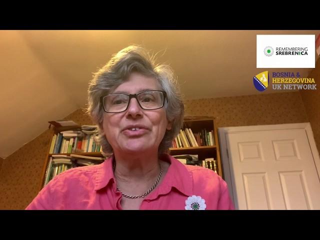 Remembering Srebrenica 2020 - Rabbi dr.Margaret Jacobi