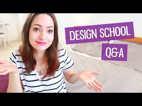 Design school Q&A | CharliMarieTV