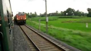 Duronto Overtake :-12273 Up Howrah Duronto Express bound for New Delhi
