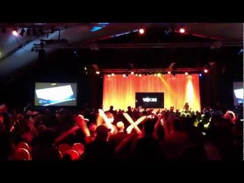 Experience the Atmosphere at Monavie's Vision Convention in Paris - March 2012