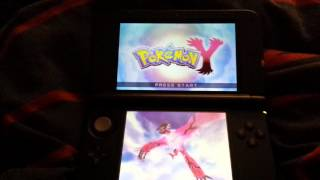 Pokemon X and Y: How to start a new game?