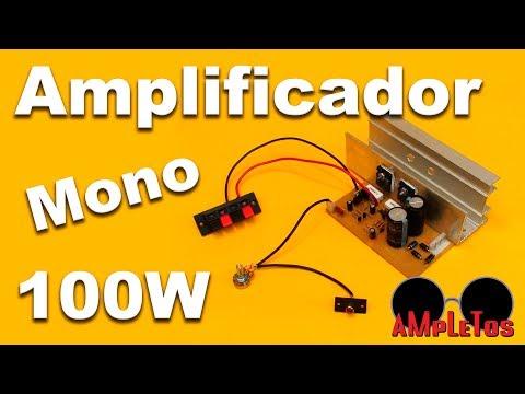 Amplificador Monofonico De 100W