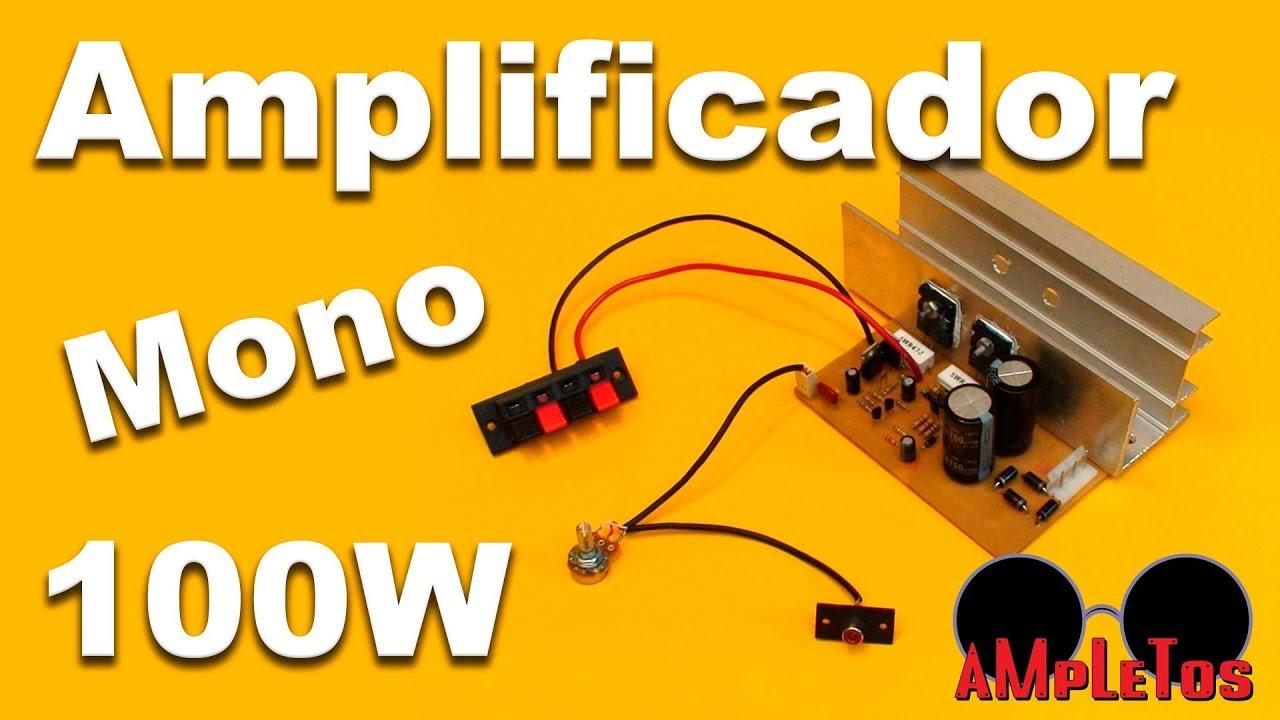 Amplificador De Udio Com 2n3055 1 T Hifi Amplifier 200 Watt Power For Car By 2sc2922 2sa1216 Monofonico 100w