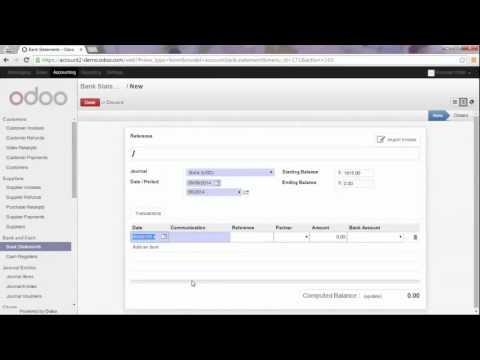 Accounting   -   Manage Bank Fees including VAT in Odoo