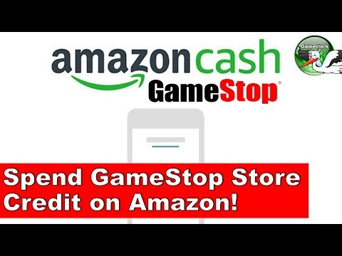 Apply Gamestop Store Credit To Amazon Cash!  Amazing Partnership Coming!