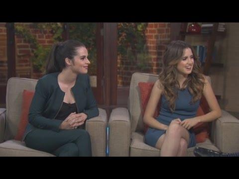 Vanessa and Laura Marano talk finales, new seasons