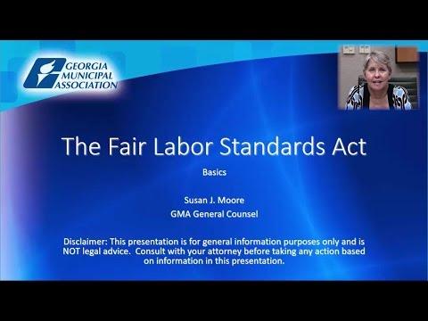 Fair Labor Standards Act (Part 1)