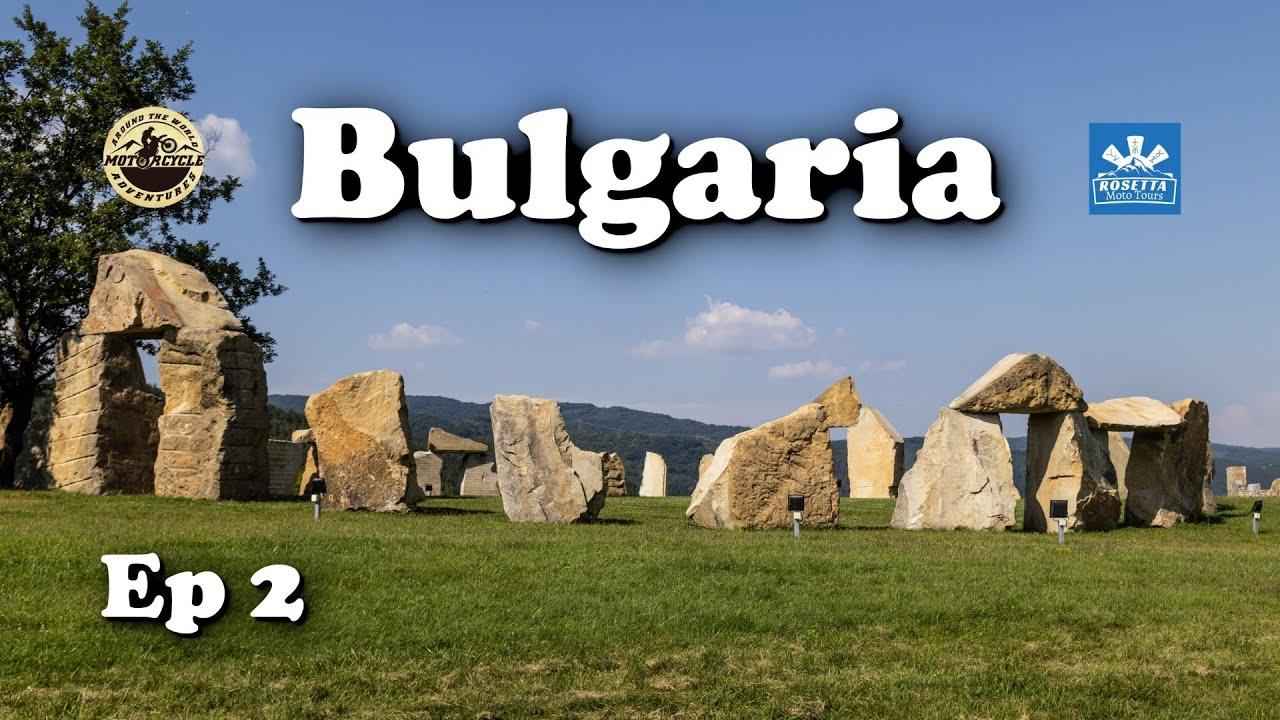 Ep 2 - Motorcycle Trip around Bulgaria / Yovkovtsi Dam & Valachan Voivoda Monument