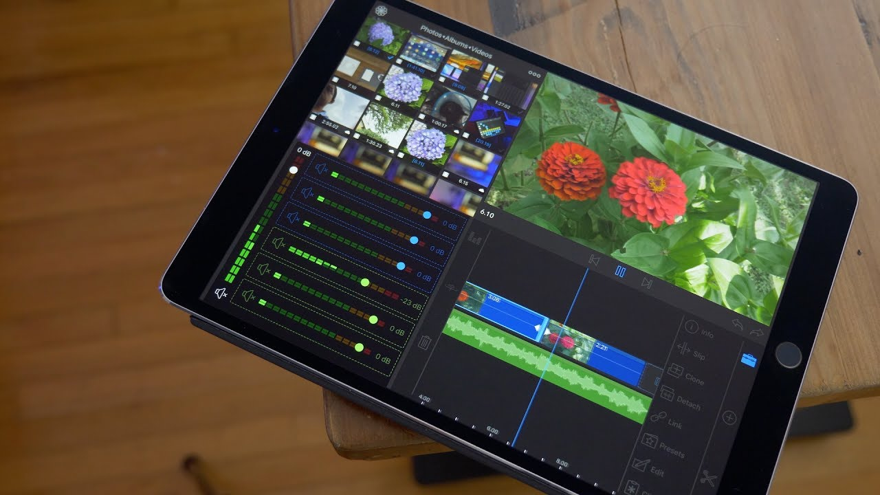 top 10 ipad video editing apps