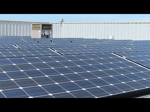 How Panasonic Installs Rooftop Solar Installations [TIMELAPSE]