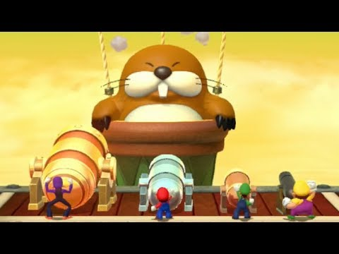 Mario Party 10 - Mario Party Mode - Airship Central (Master Difficulty)