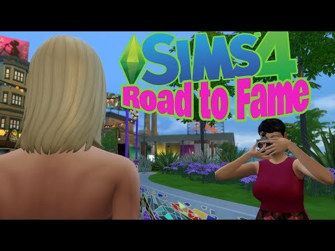 The Sims 4 - Road to Fame Mod Overview - GREAT MOD!