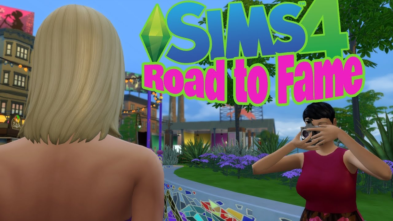 mod road free 4 to download sims fame