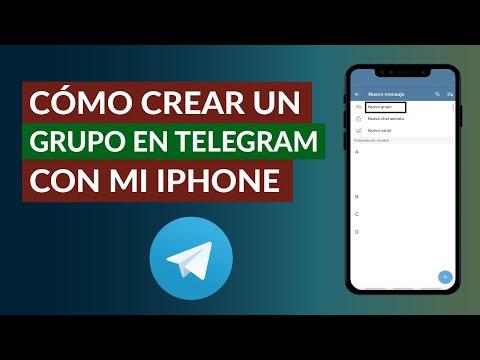 Cómo Crear Fácilmente un Grupo en Telegram con mi iPhone