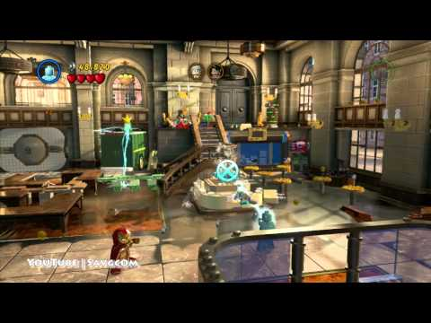 LEGO Marvel Super Heroes - A Shocking Withdrawl (Bank) - RED BRICK, STAN LEE, CHARACTERS