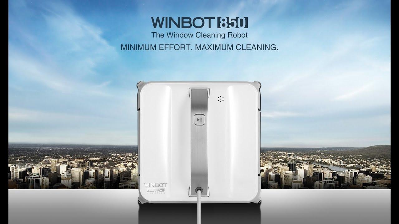מדהים רובוט לניקוי חלונות WINBOT W850 מבית ECOVACS - YouTube MX-42