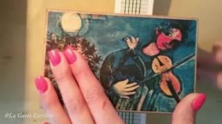 The sound of silence, Carillon Portagioie musicale personalizzato con spartito