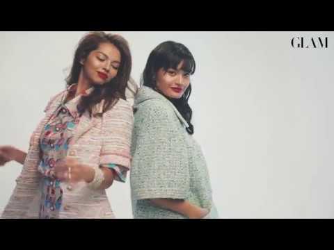 GLAM Malaysia | GLAM Mac 2019: Fashion's Fresh Face Natalie Prabha & Nia Atasha