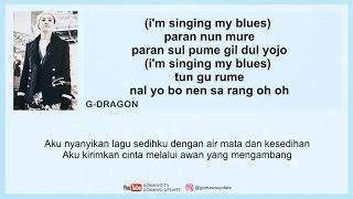 Easy Lyric BIGBANG - BLUE by GOMAWO [Indo Sub]