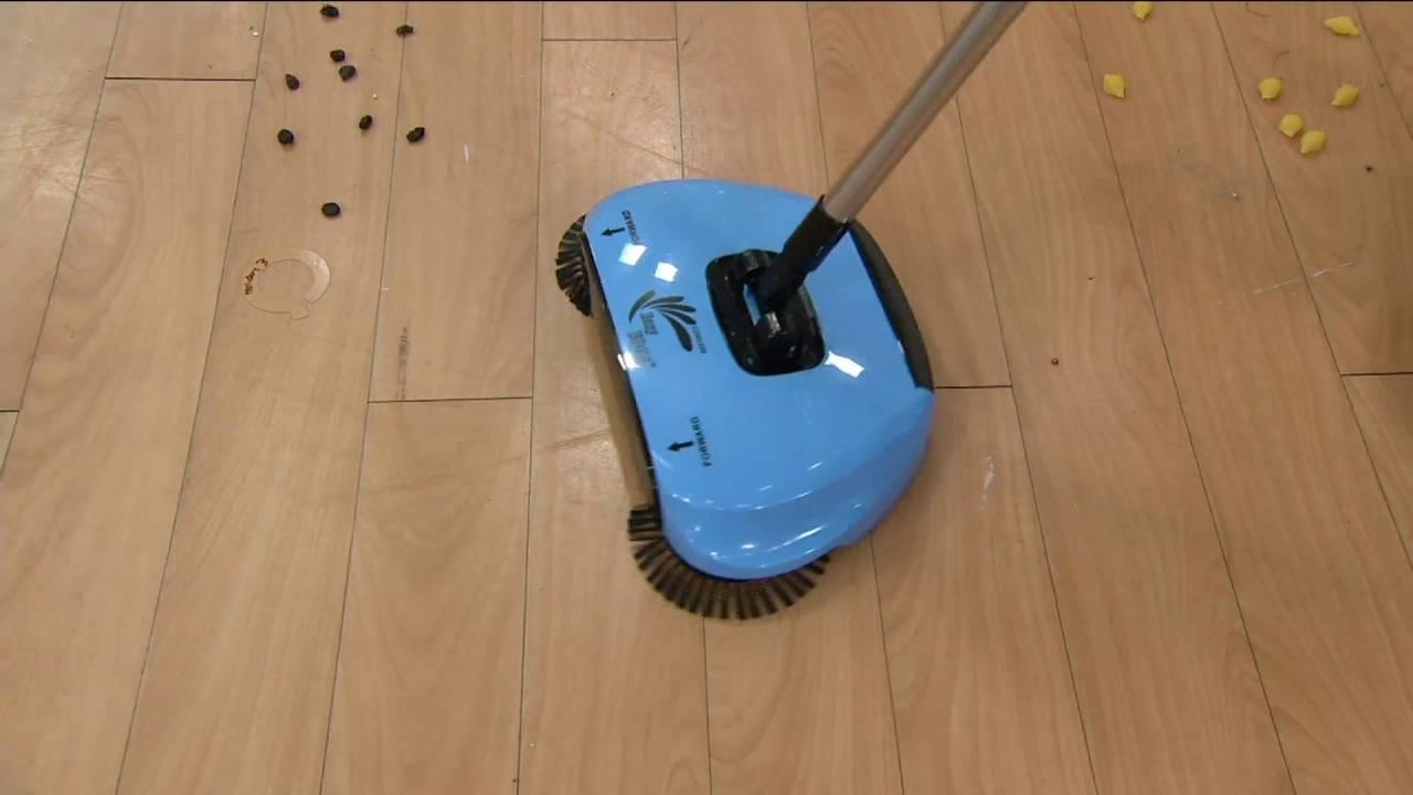 Easyedge Lightweight Hard Floor Sweeper On Qvc Youtube