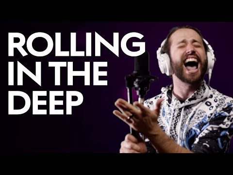 BEARDO - ROLLING IN THE DEEP - Adele (METAL cover by Jonathan Young)