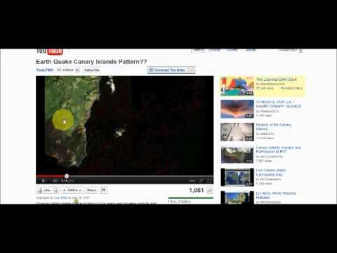 More Strange Earthquake Patterns....Evidence of  x37-b? HAARP?  You Tell Me