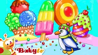 Pinguin & Rooster | Colors and Toys for Kids | BabyTV