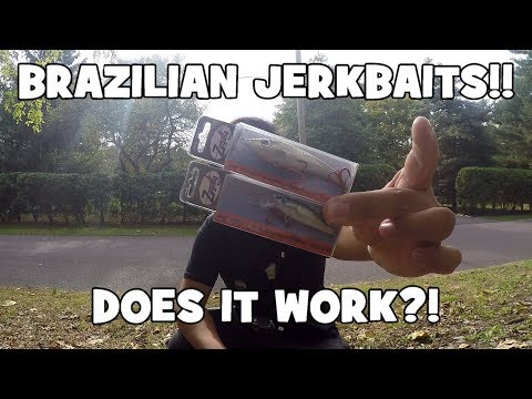 Fishing w/ BRAZILIAN JERKBAITS! DOES IT WORK?! (Yardley, PA)