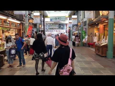 DJI OSMO Mobile: Walk in Teramachi Street, Kyoto