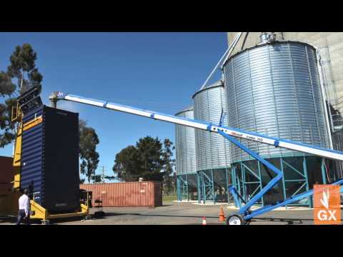 GrainX Australia CEO Chris Hood launches Australias latest Grain storage & transport - Smakk Media