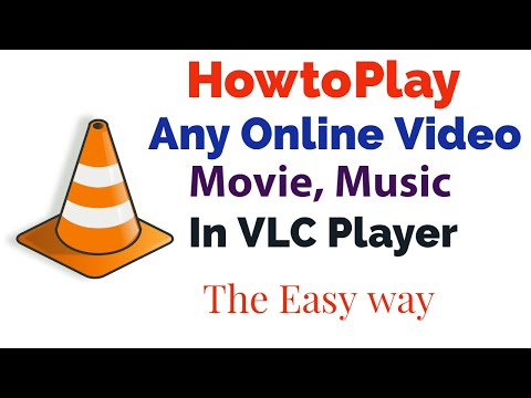 How To Play Online Video In VLC Player, Stream Any Video In VLC Player, Online Movies In VLC Player
