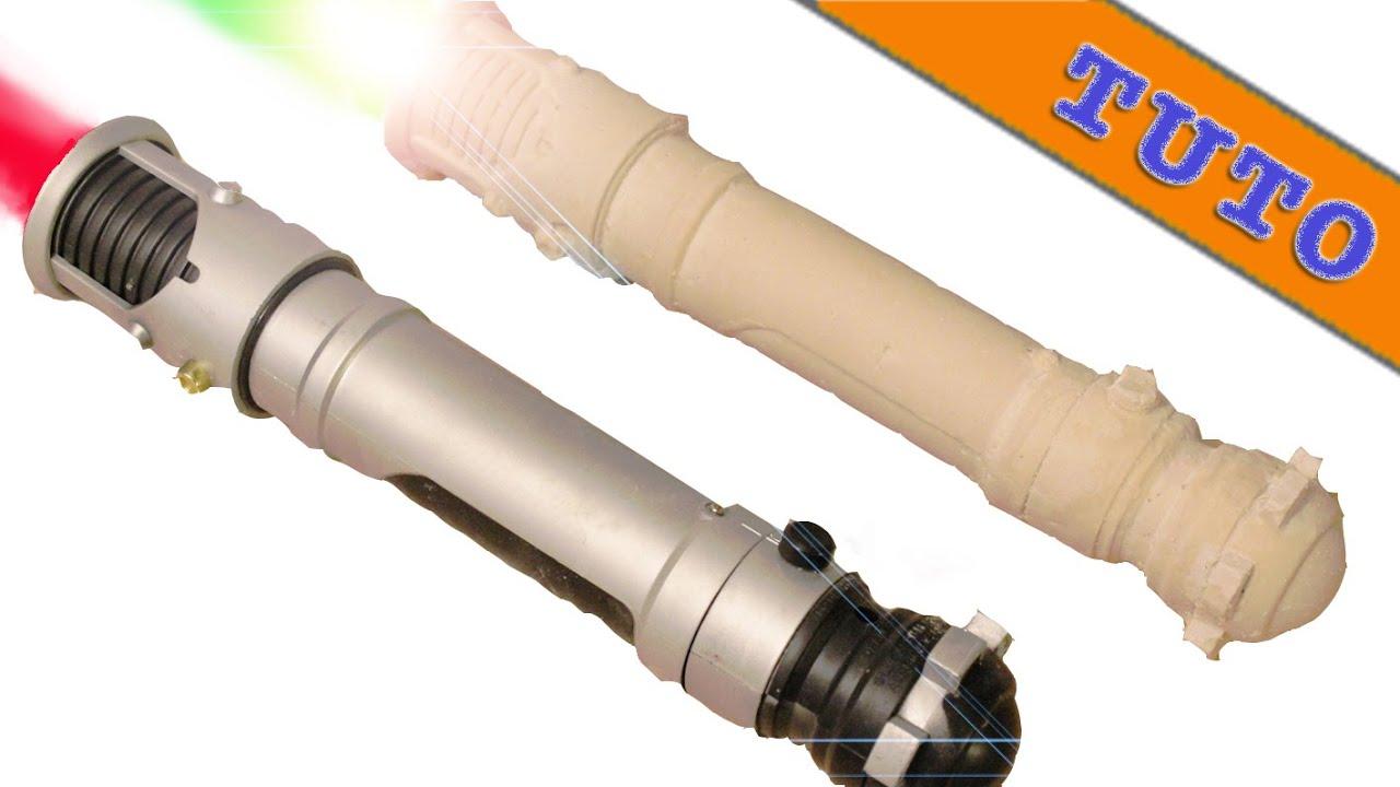 fabriquer un sabre laser reproduction avec de l 39 alginate