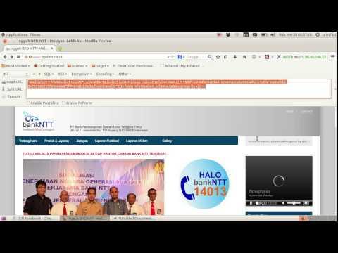 Seni Mengeksploitasi Bug Sql Injection di Web Bank INDONESIA #part 1