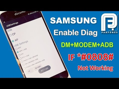 WN - how to enable the diag port with android tool (example)