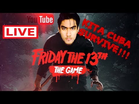 Friday the 13th LIVE with RezZaDude!!! | KITA CUBA SURVIVE!