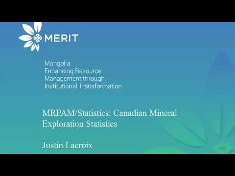 Mineral Exploration Statistics