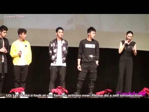 [Eng Sub] [YuZhou focus] 160220 Addicted Fanmeeting in Shanghai Part 1