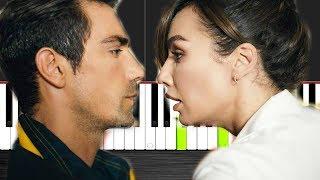 Siyah Beyaz Aşk - Jenerik  - Piano Tutorial  by VN