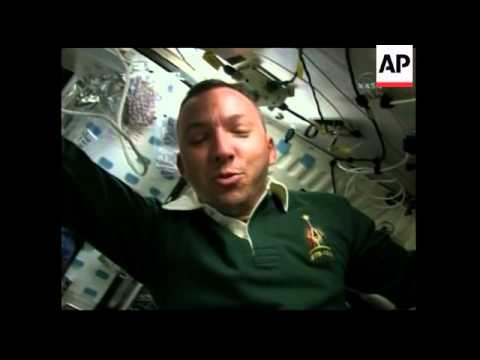 Astronaut becomes father while in space, hands out cigars to spacemen