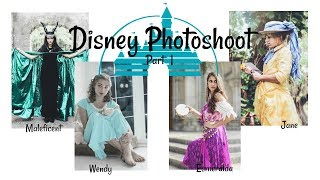 Disney Photoshoot | Behind the Scenes | Part 1