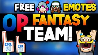 How To Unlock FREE EMOTES NOW! CRL Fantasy Guide!