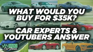 What's the best car you can buy for $35k?