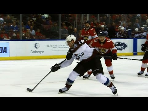 Nathan MacKinnon scores electrifying goal against Panthers