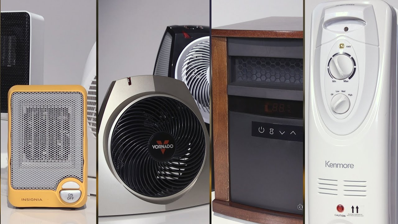 space heater buying guide consumer reports youtube. Black Bedroom Furniture Sets. Home Design Ideas