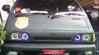 Wow Modifikasi Lampu Mobil Daihatsu Zebra !!