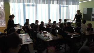 Открытый урок по математике, 3 класс